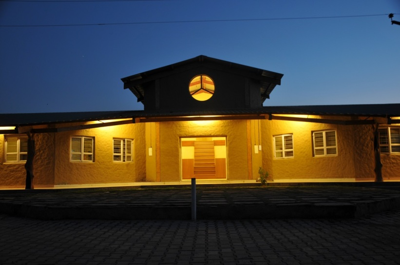 Night View of Main Building